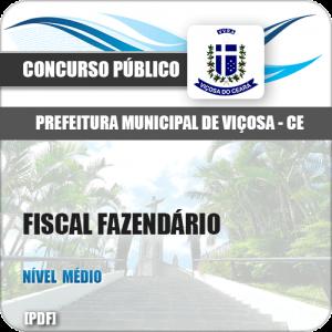 Apostila Pref Viçosa CE 2018 Fiscal Fazendário