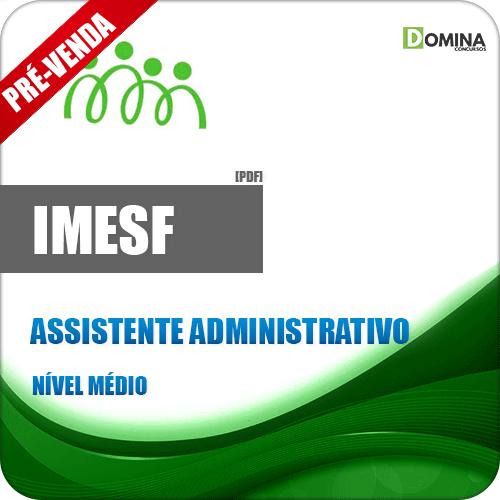Apostila IMESF Pref Porto Alegre RS 2018 Assistente Administrativo