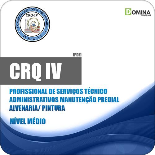 CRQ IV 2018 PSA Manutenção Predial Alvenaria