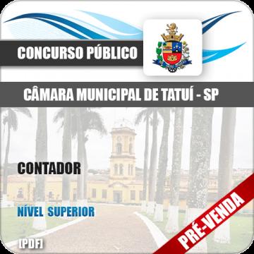 Apostila Câmara Municipal de Tatuí SP 2018 Contador