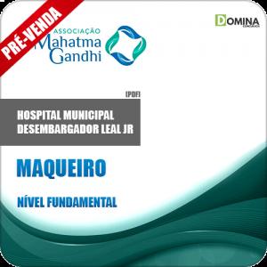 Apostila Hospital M. Desemb. Leal Jr RJ 2018 Maqueiro