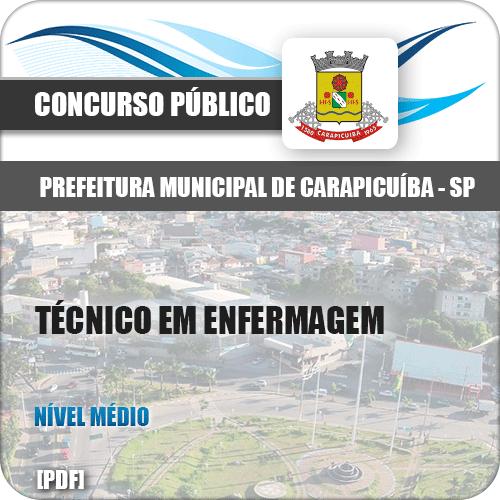 Pref Carapicuíba SP 2018 Técnico em Enfermagem