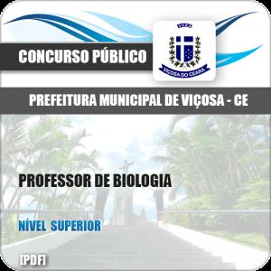 Pref Viçosa CE 2018 Professor de Biologia