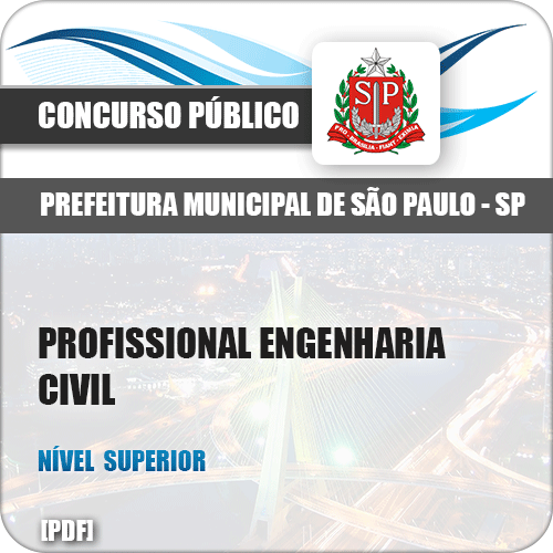 Pref de São Paulo SP 2018 Profissional Engenharia Civil