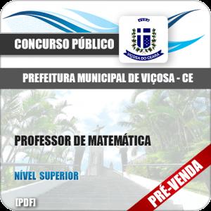 Apostila Pref Viçosa CE 2018 Professor de Matemática