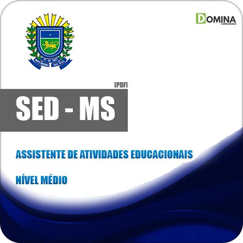 SED MS 2018 Assistente de Atividades Educacionais