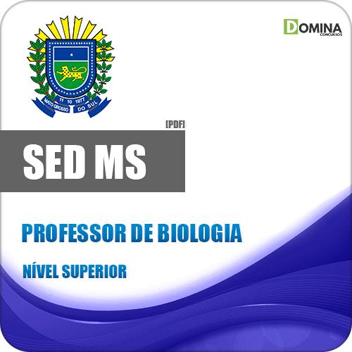 SED MS 2018 Professor de Biologia