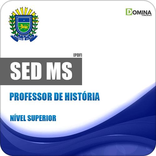 SED MS 2018 Professor de História