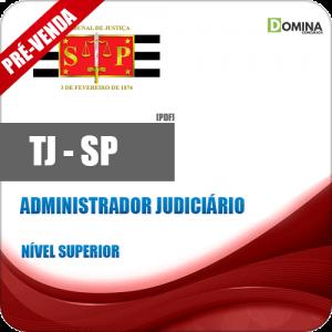 Apostila Tribunal de Justiça TJ SP 2018 Administrador Judiciário