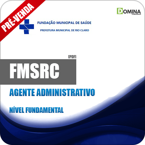 Apostila FMSRC SP 2018 Agente Administrativo