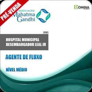 Apostila Hospital M. Desemb. Leal Jr RJ 2018 Agente de Fluxo