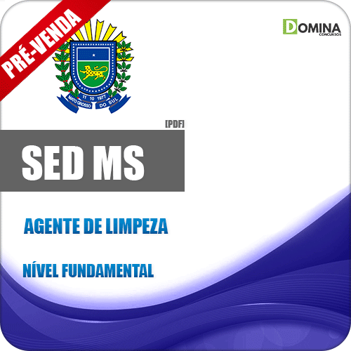 Apostila SED MS 2018 Agente de Limpeza