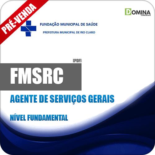 Apostila FMSRC SP 2018 Agente de Serviços Gerais