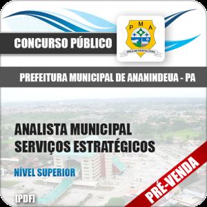 Apostila Pref de Ananindeua PA 2018 Analista Serviços Estratégicos