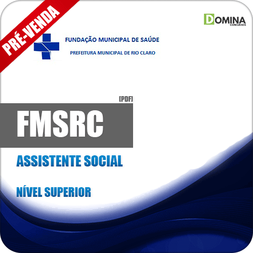 Apostila FMSRC SP 2018 Assistente Social