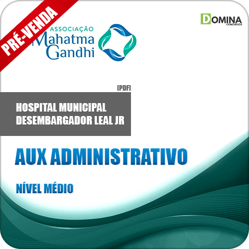 Apostila Hospital M. Desemb. Leal Jr RJ 2018 Aux Administrativo