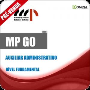 Apostila MP GO 2018 Auxiliar Administrativo