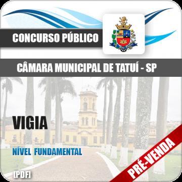 Apostila Câmara Municipal de Tatuí SP 2018 Vigia