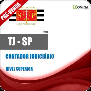 Apostila Tribunal de Justiça TJ SP 2018 Contador Judiciário
