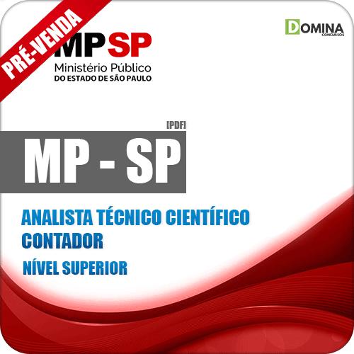 Apostila MP SP 2018 Analista Técnico Científico Contador