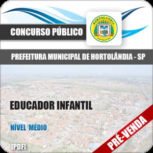 Apostila Pref Hortolândia SP 2018 Educador Infantil