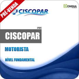 Apostila CISCOPAR PR 2018 Motorista