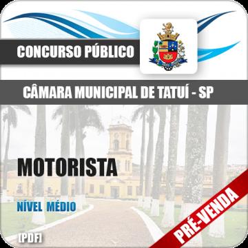 Apostila Câmara Municipal de Tatuí SP 2018 Motorista