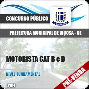 Apostila Pref Viçosa CE 2018 Motorista Cat B e D