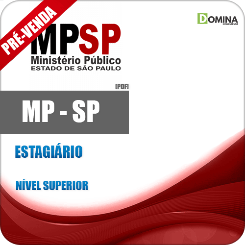 Apostila MP SP 2018 Processo Seletivo Estagiário