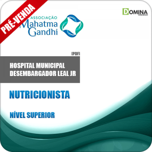 Apostila Hospital M. Desemb. Leal Jr RJ 2018 Nutricionista