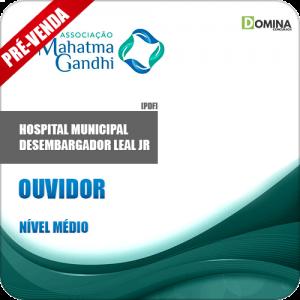 Apostila Hospital M. Desemb. Leal Jr RJ 2018 Ouvidor