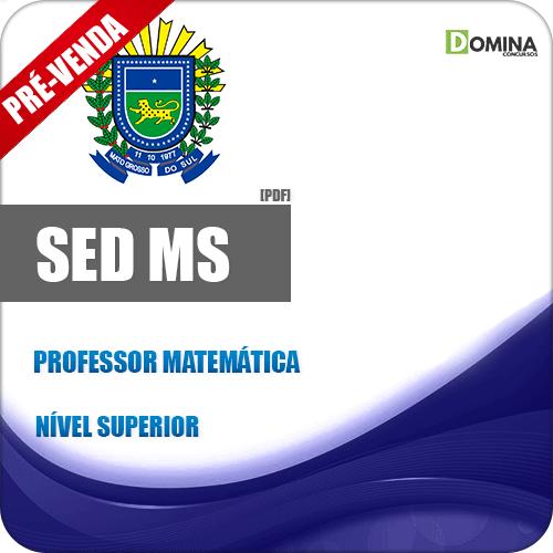 Apostila SED MS 2018 Professor de Matemática