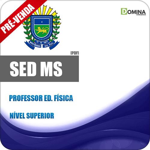 Apostila SED MS 2018 Professor de Educação Física
