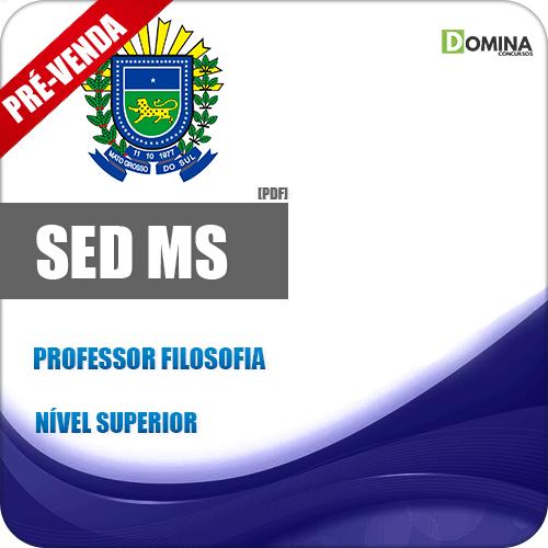Apostila SED MS 2018 Professor de Filosofia