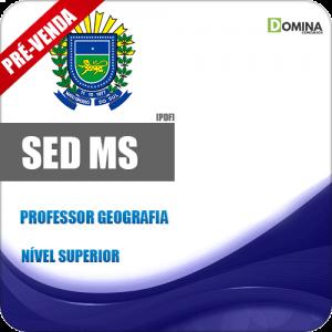 Apostila SED MS 2018 Professor de Geografia