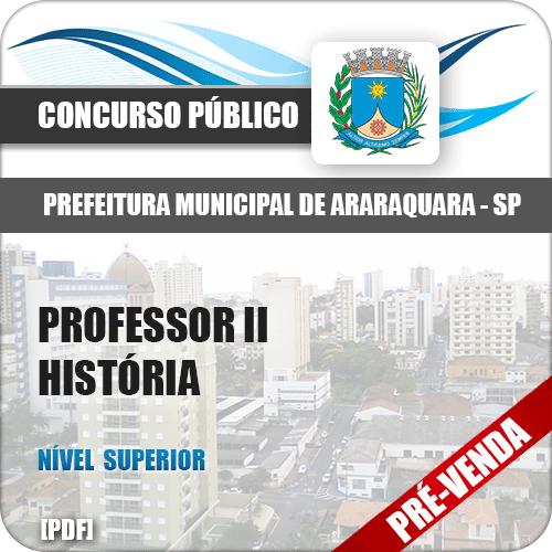Apostila Pref Araraquara SP 2018 Professor II História