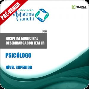 Apostila Hospital M. Desemb. Leal Jr RJ 2018 Psicólogo