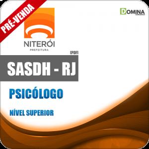Apostila SASDH RJ 2018 Psicólogo