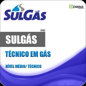 Apostila SULGÁS 2018 Técnico em Gás