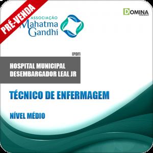 Apostila Hospital M. Desemb. Leal Jr RJ 2018 Técnico Enfermagem