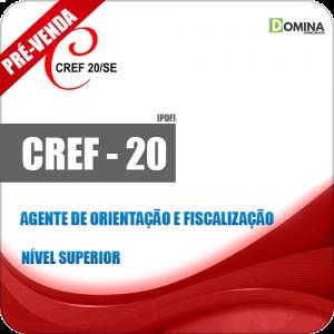 Apostila CREF 20 SE 2018 Agente de Orientação e Fiscalização