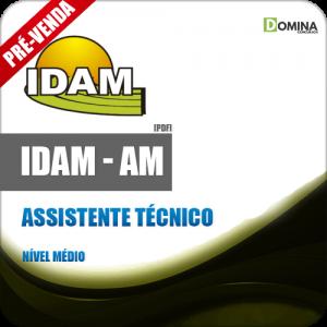 Apostila IDAM 2019 Assistente Técnico