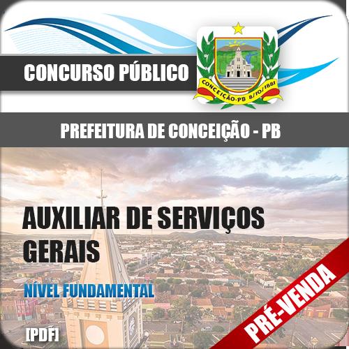 Apostila Pref Botucatu SP 2018 Auxiliar de Serviços Gerais