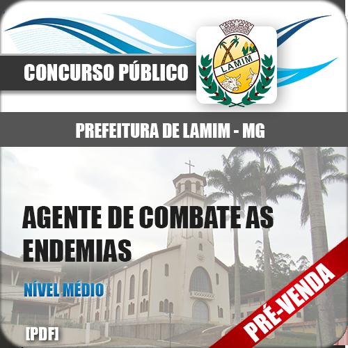 Apostila Pref Lamim MG 2019 Agente de Combate a Endemias