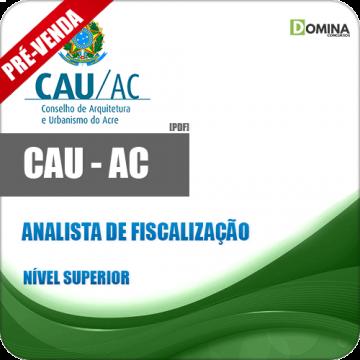Apostila CAU AC 2018 Analista de Fiscalização
