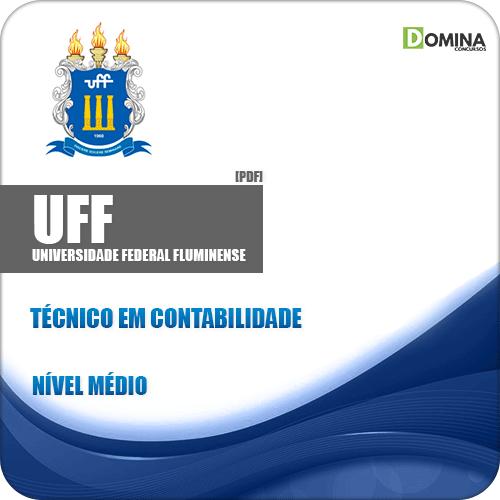 Apostila UFF RJ 2019 Técnico em Contabilidade