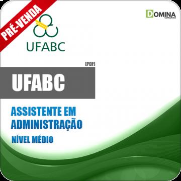Apostila UFABC 2019 Assistente em Administração