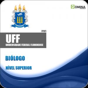 Apostila UFF RJ 2019 Biólogo