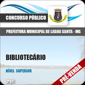 Apostila Pref Lagoa Santa MG 2018 Bibliotecário