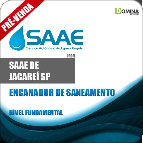 Apostila SAAE Jacareí SP 2019 Encanador de Saneamento